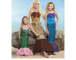 86 Children Halloween Costumes Sewing Patterns Images Mermaid Costume Etsy