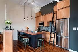 wooden furniture for kitchen loft styled kitchen industrial motiffs for comfortable