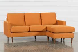 egan sofa w reversible chaise david grey reversible sofa chaise living spaces