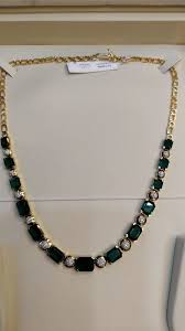 boutique designer jewellery simple emerald diamond necklace boutiquedesignerjewellery