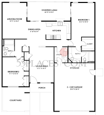 duplex d 43 floorplan 1661 sq ft sun city 55places com