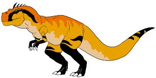 land allosaurus wolffuchs deviantart