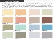 1950s color scheme paint color palettes home design inspiraion ideas