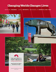 unm foundation annual report of giving 2015 2016 by unm foundation
