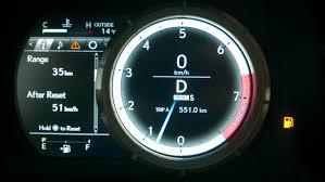 lexus hs 250h gas tank capacity low fuel light clublexus lexus forum discussion