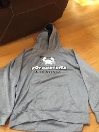 east coast dyes hoodie lacrosse apparel sidelineswap