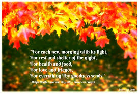 in others words a thanksgiving prayer beth k vogt