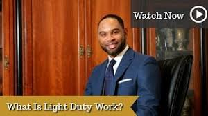 what is light duty work categories video georgia workers comp lawyer