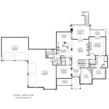 Den Floor Plan Laurel Floor Plan From Noco Custom Homes