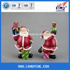 polyresin indoor santa claus decorations christmas crafts santa