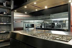 Kitchen Design Restaurant Stainless Steel Kitchen For Modern Restaurant