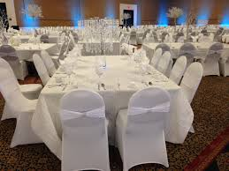 White Chair Covers Wholesale White Spandex Chair Cover With White Spandex Bands And Silver