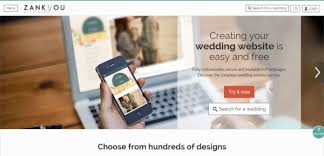 free wedding website zankyou wedding websites wedding registry the budget