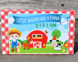 Barn Animal Party Supplies Petting Zoo Etsy