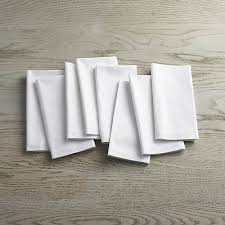 crate and barrel napkins fete white cloth napkins set of 8 in napkins reviews crate