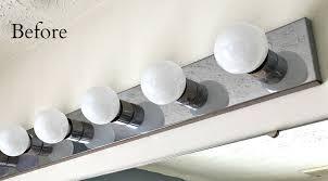 bathroom fixtures best change bathroom light fixture best home