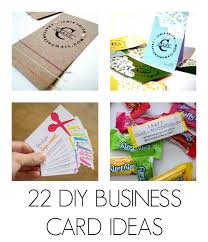 cards for business diy business cards c r a f t