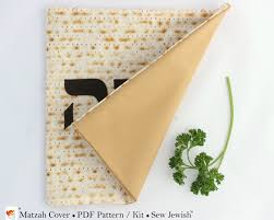 passover matzah cover passover matzah cover sewing pattern kit sew