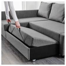 klippan sofa bed friheten corner sofa bed with storage skiftebo grey ikea