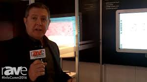 infocomm 2016 ricoh features huddle room solution with d5510 and