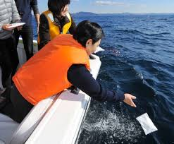 scattering ashes at sea scattering ashes at sea is on the rise in japan scattering on water