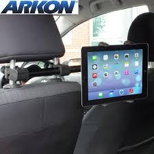 test du support appui tête voiture pour tablettes arkon tab3 rshm