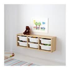 rangement mural chambre bébé trofast rangement mural pin pin teinté blanc clair blanc