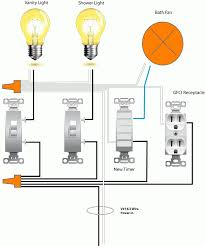 inspiring how to finish a basement bathroom u2013 light switch