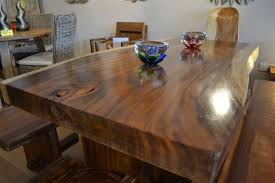 Chunky Rustic Dining Table Solid Chunky Wood Dining Set Furniture Ideas