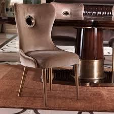 dining room velvet art deco style dining chair french art dining