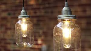 Jelly Jar Light With Cage by Diy Mason Jar Light Lantern Youtube
