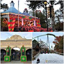 Six Flags In Winter Six Ways To Celebrate The Holidays In Arlington Texas