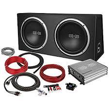 amazon com subwoofers electronics amazon com belva 1200 watt complete car subwoofer package
