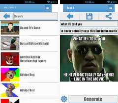 Generate All The Memes - 3 great android tools to make memes on the go