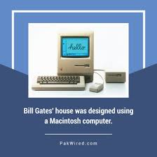 bill gates u0027 house was designed using a macintosh computer