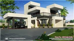 Modern Style House Plans Modern Contemporary Style Home Exterior Kerala Home Design And