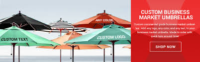 Market Patio Umbrella Advertising Market Patio Umbrellas By Lookourway