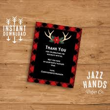 thank you card or insert card template diy