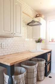 Pinterest Laundry Room Cabinets - best 25 laundry room countertop ideas on pinterest laundry room