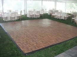portable floor rental tent options