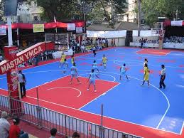 Backyard Sport Court Cost by Backyard Indoor And Outdoor Basketball Courts Sport Court