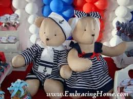 teddy baby shower favors nautical baby shower invitations decorations themed ideas