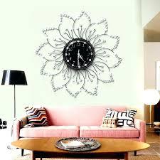 oversized home decor oversized home decor wall clock wholesale clocks the flowers of