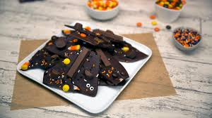 candy covered halloween bark recipe tastemade