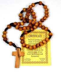 olive wood rosary authentic olive wood rosary from jerusalem the holy land 13