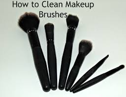 cleanyourmakeupbrushes how to clean makeup brushes with vinegar