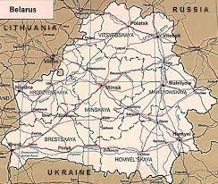 russia map belarus russian railway maps