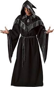 amazon com incharacter costumes men s dark sorcerer robe clothing