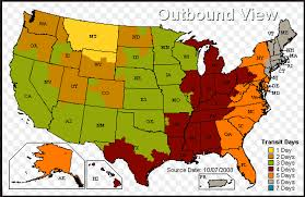 usps class shipping map en route to delivery oxx manufacturing help center