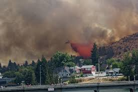 Wildfire Dc by Photos Sunbathers Gawked As Wildfires Burned Chelan Kuow News
